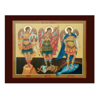 De heilige Kaart van het Gebed van Aartsengels