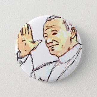 De heilige Speld van Johannes Paulus II van de Ronde Button 5,7 Cm