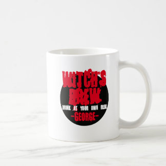 De heks brouwt. Drank op uw eigen risico Koffiemok