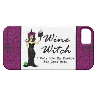 """De Heks """"I van de wijn gebruikt slechts Mijn Barely There iPhone 5 Hoesje"""