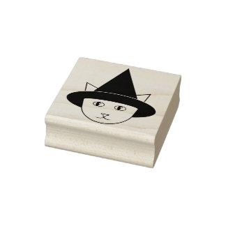 De heks-Kat van de cartoon de RubberZegel van het Rubberenstempel