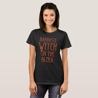 De Heks van Baddest op het Blok Halloween T Shirt