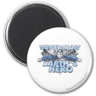 De Held van de aarde - Blauw Magneten