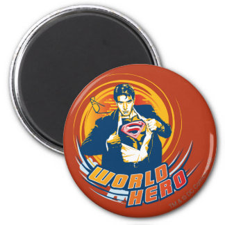 De Held van de Wereld van de superman Koelkast Magneetje