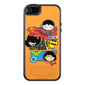 De Helden van Chibi Klaar voor Actie! OtterBox iPhone 5/5s/SE Hoesje