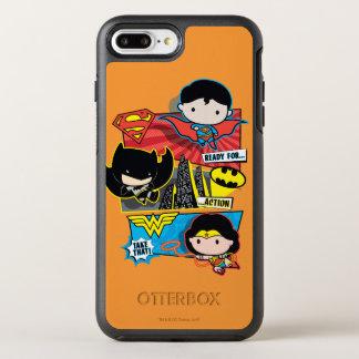 De Helden van Chibi Klaar voor Actie! OtterBox Symmetry iPhone 8 Plus / 7 Plus Hoesje
