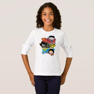 De Helden van Chibi Klaar voor Actie! T Shirt