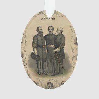De Helden van de Burgeroorlog Ornament