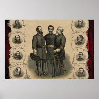 De Helden van de Burgeroorlog Poster