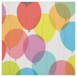 De heldere Ballons van de Verjaardag Stof