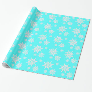 De heldere Blauwe Omslag van de Gift van de Inpakpapier