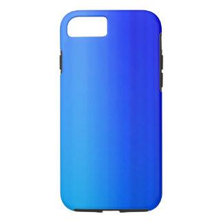 De heldere Blauwe Verf van de Waterverf Ombre iPhone 7 Hoesje