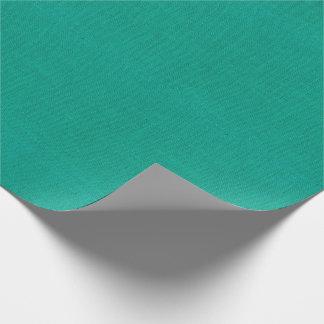 De heldere Blauwgroen Textuur van de Jute Inpakpapier