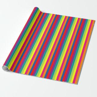 De heldere kleurrijke Vakantie van Chrismas van Inpakpapier