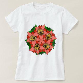 De heldere Lelie bloeit de T-shirts van de Kleding