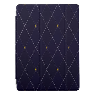 "De heldere Marine Argyle 12.9 van de Diamant "" iPad Pro Cover"