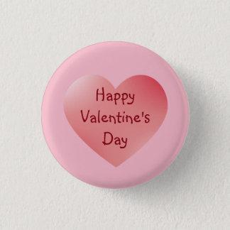 De heldere Rode Knoop van de Valentijnsdag van het Ronde Button 3,2 Cm