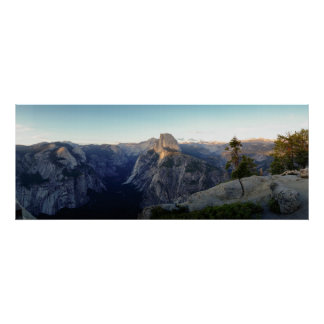 De helft-Koepel van Yosemite Panorama Poster
