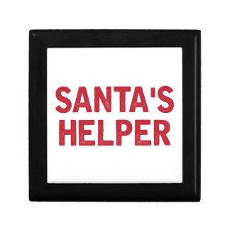 De Helper van de kerstman Decoratiedoosje