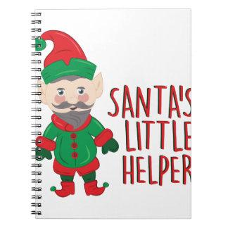 De Helper van Santas Notitieboeken