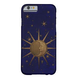 De hemel Sterrige Nacht van de Maan van de Zon Barely There iPhone 6 Hoesje