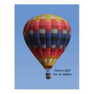 De hemel watteren het Briefkaart van de Ballon van Wenskaart