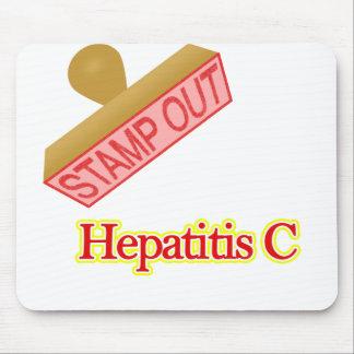 De Hepatitis C van de zegel uit Muismat