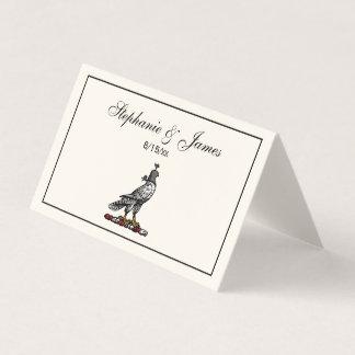 De heraldische Valk die van de Jacht de Kap C Ivry Plaatskaart