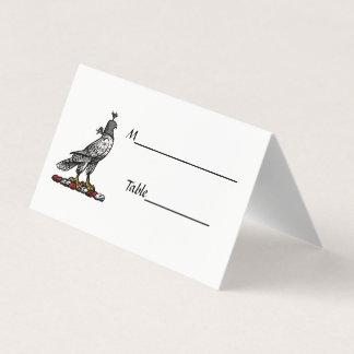 De heraldische Valk die van de Jacht de Kap C Plaatskaart