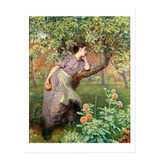 De herfst, 1865 briefkaart