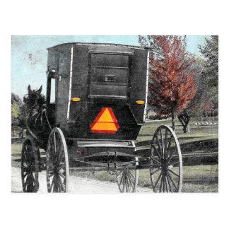 De herfst Amish Met fouten Briefkaart