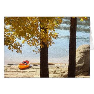 De herfst bij het Park van de Staat van de Berg Kaart