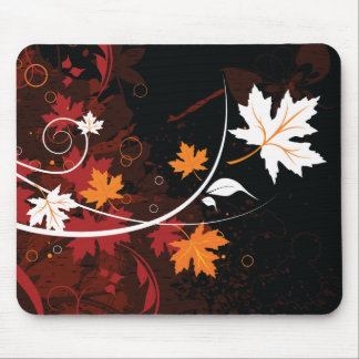 De herfst blad-esdoorn van de Thanksgiving Muismat