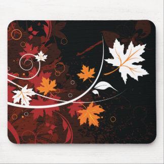 De herfst blad-esdoorn van de Thanksgiving Muismatten