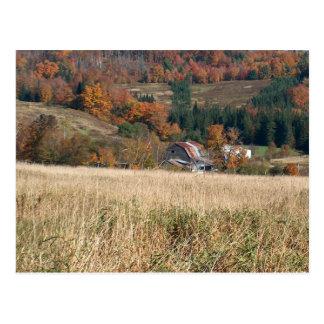 De herfst in Vermont Briefkaart