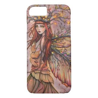 De herfst Koningin Fairy Fantasy Art door Molly iPhone 8/7 Hoesje