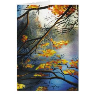 """De """"herfst op de Rivier """" Kaart"""