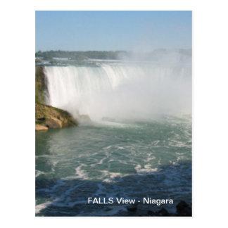 De herfsten bekijken: Niagara de V.S. Canada Briefkaart