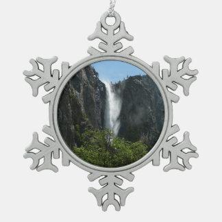 De Herfsten van Bridalveil bij Nationaal Park Tin Sneeuwvlok Ornament
