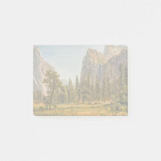 De Herfsten van de Bruidssluier van Bierstadt, Post-it® Notes