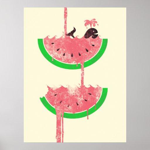 De Herfsten van de watermeloen Poster