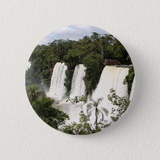 De Herfsten van Iguazu, Argentinië, Zuid-Amerika Ronde Button 5,7 Cm