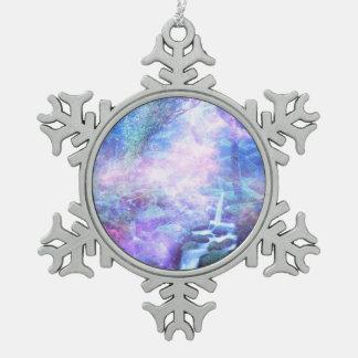 De Herfsten van Lilannah Tin Sneeuwvlok Ornament