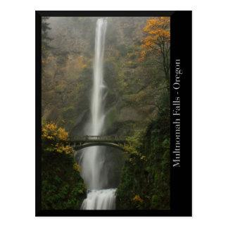 De Herfsten van Multnomah in de Herfst Briefkaart