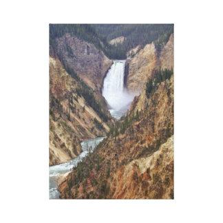 De Herfsten van Yellowstone Canvas Afdrukken