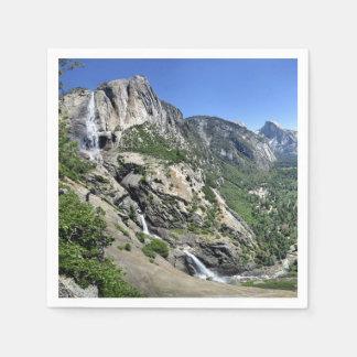 De Herfsten van Yosemite en Halve Koepel van Oh Wegwerp Servet