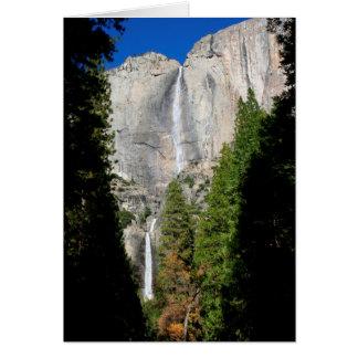 De Herfsten van Yosemite in November (het Bericht Briefkaarten 0