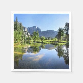 De Herfsten van Yosemite van Rivier Merced - Papieren Servetten