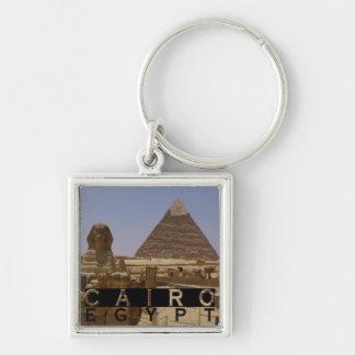 De Herinnering van Kaïro Egypte Sleutelhanger