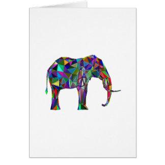 De Heropleving van de olifant Wenskaart